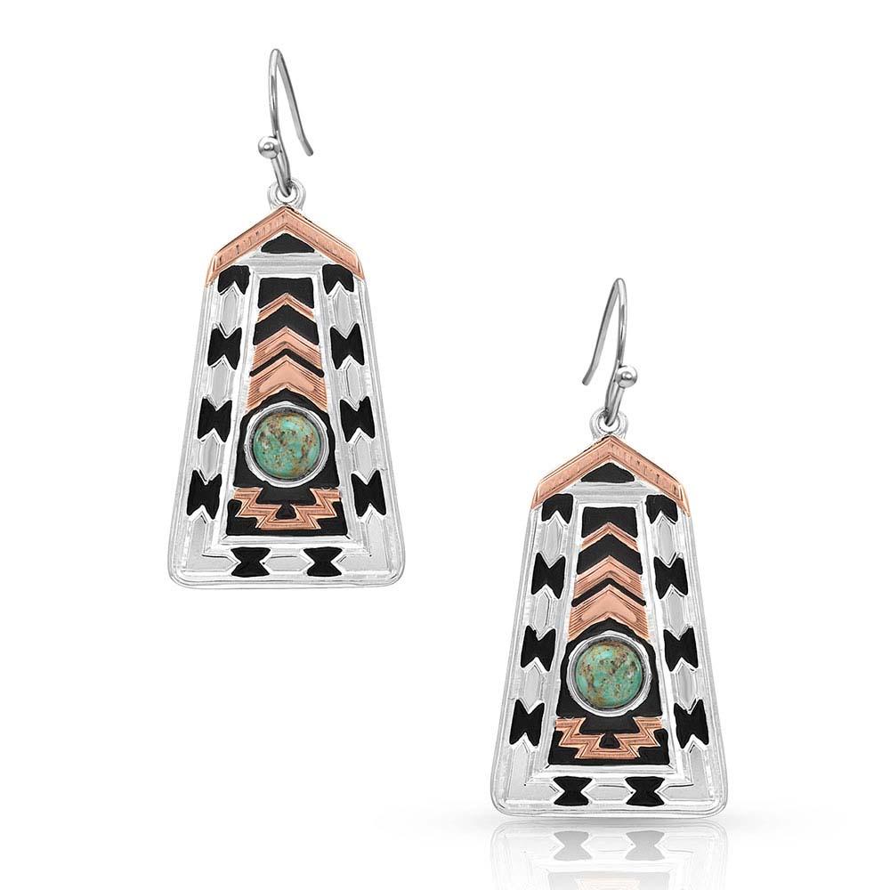 Desert Serenade Turquoise Earrings
