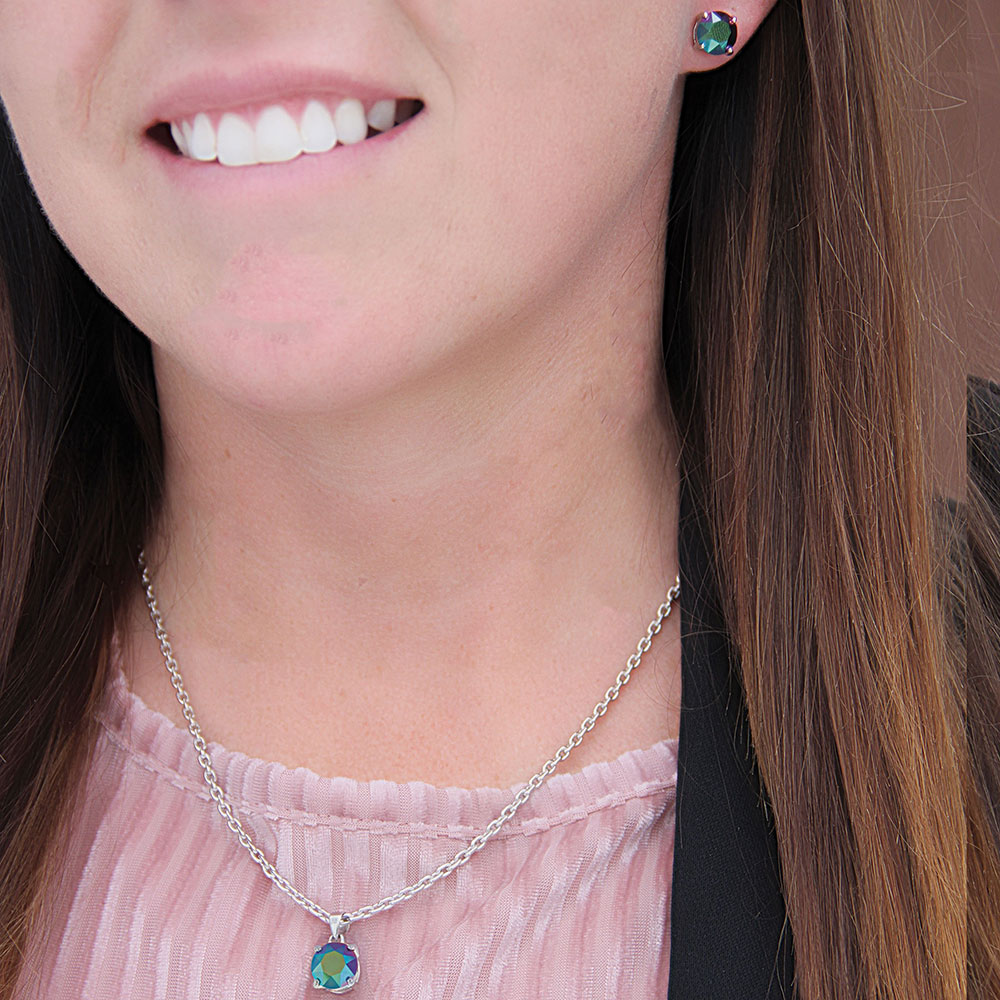Verdant Glow Earrings