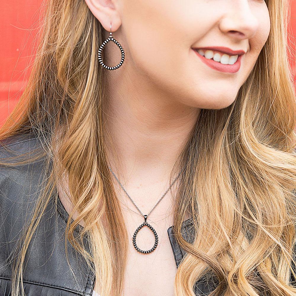 Beaded Legacy Teardrop Earrings