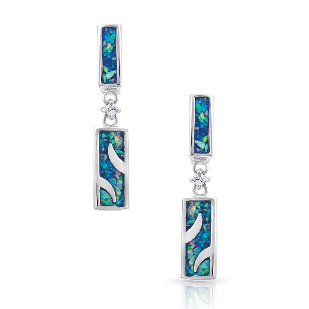 River of Lights Opal Waves Earrings