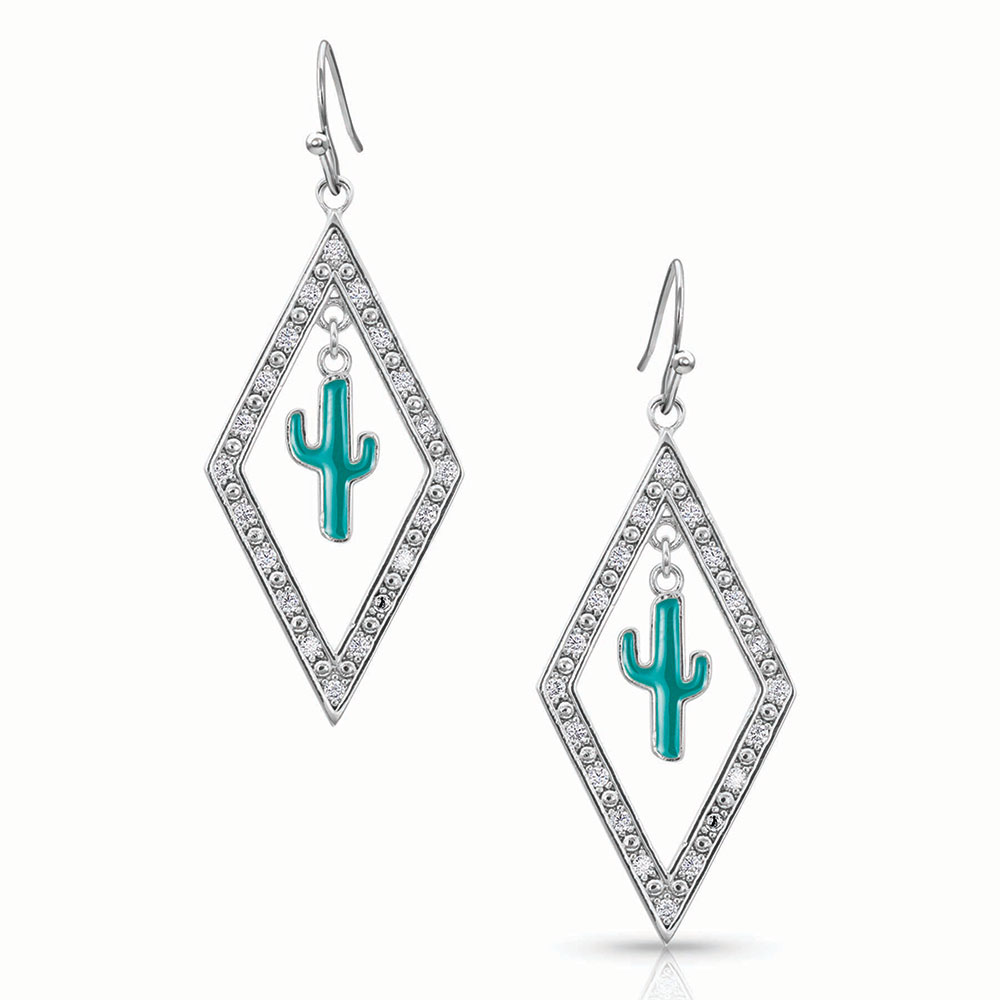 Cactus in Lights Earrings