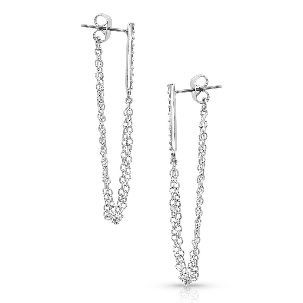 Ever Connected Chain Earrings