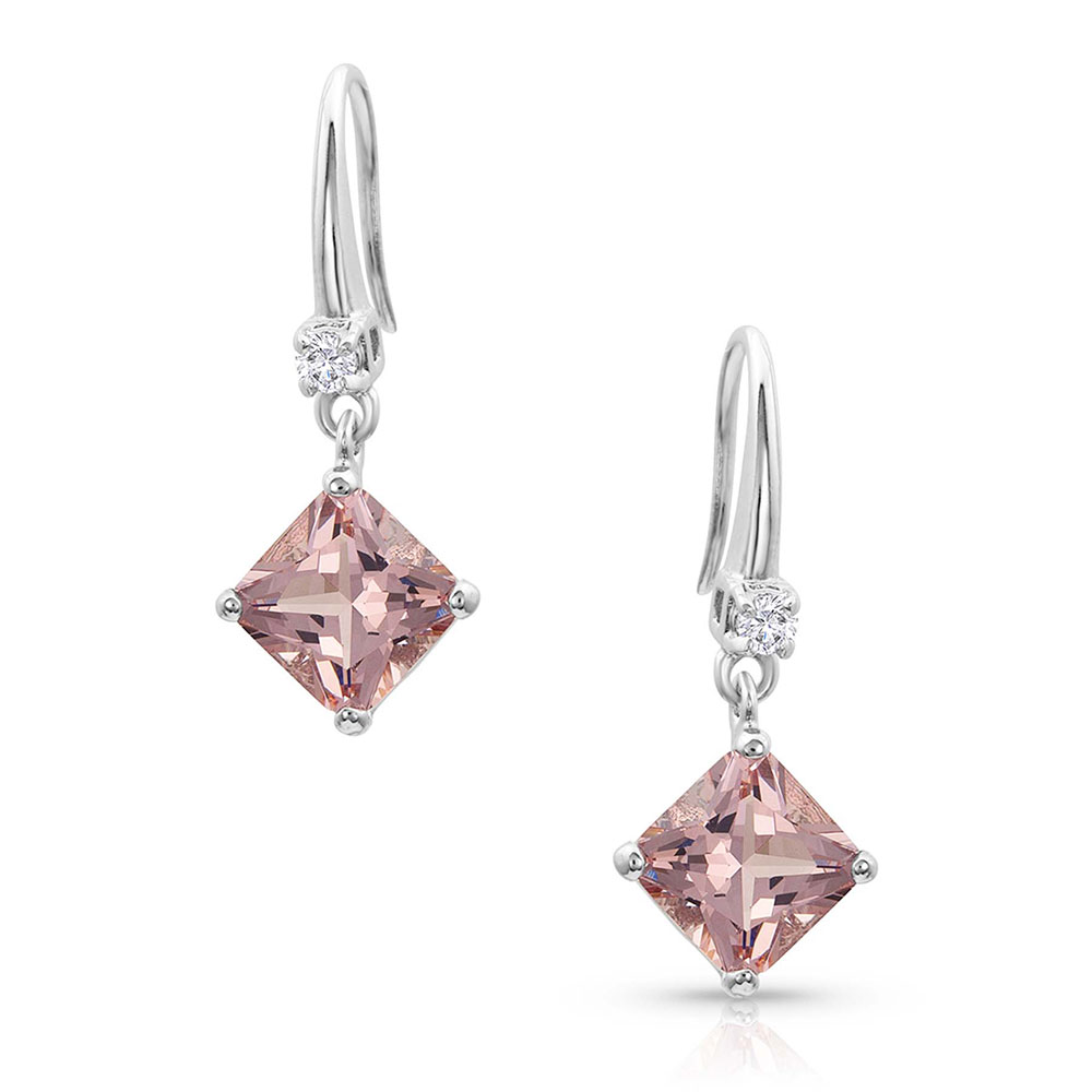Pink Perfection Star Lights Earrings