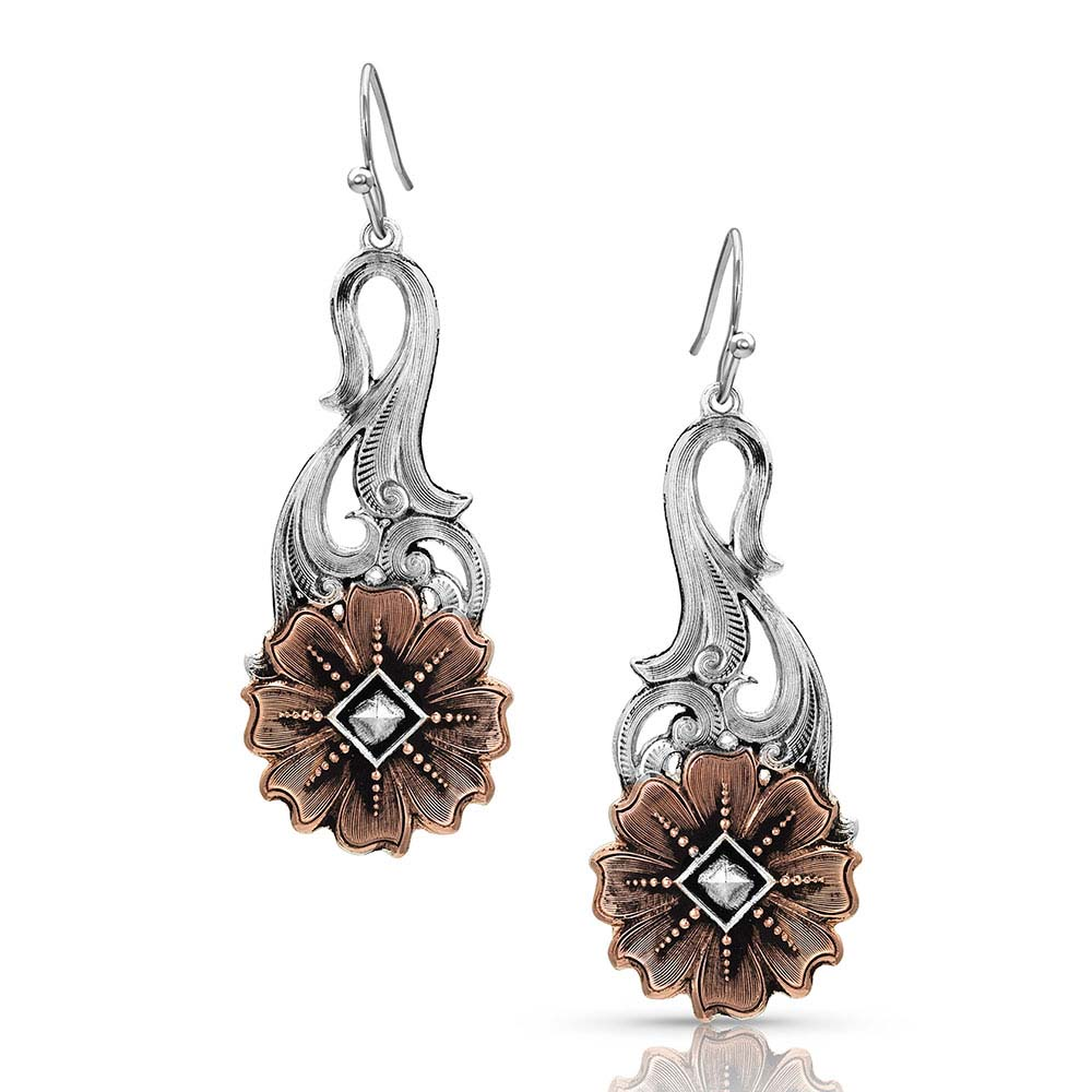 Wildflower Kaleidoscope Earrings