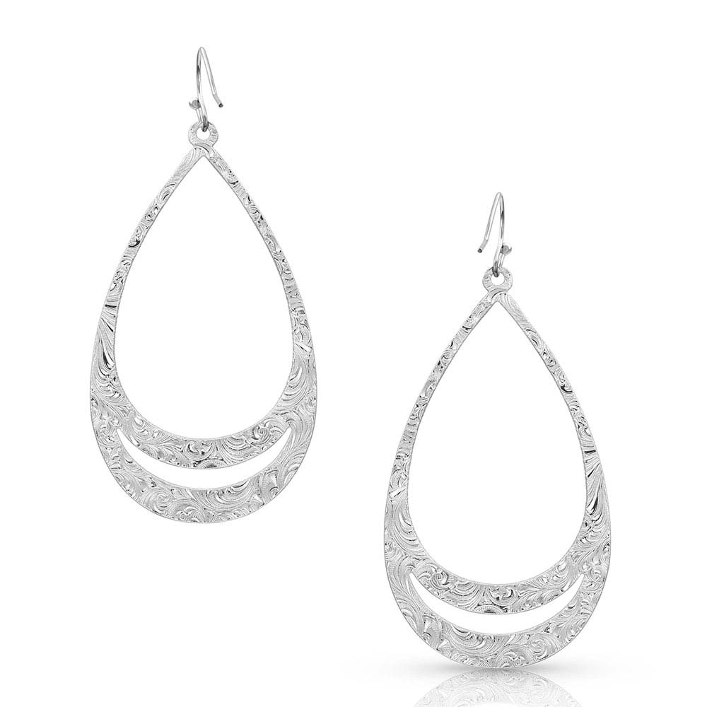 Think Twice Teardrop Earrings