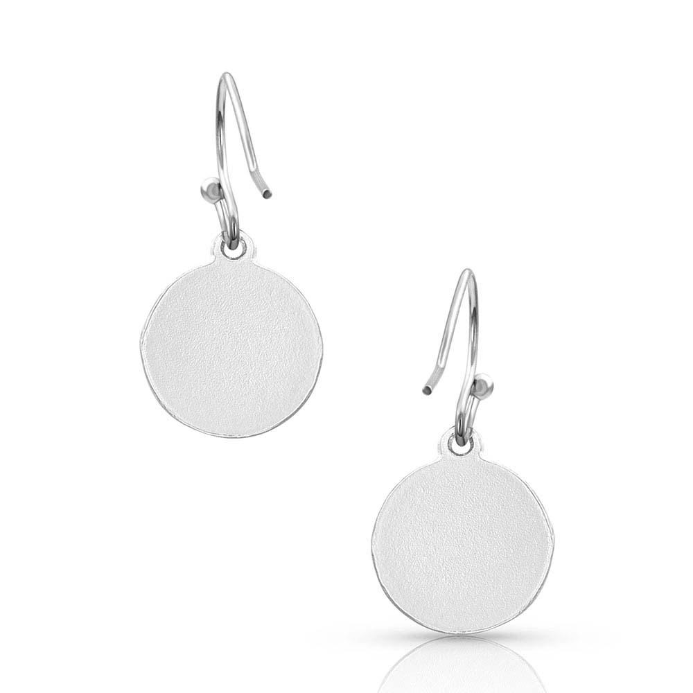 Silverdrop Concho Charm Earrings
