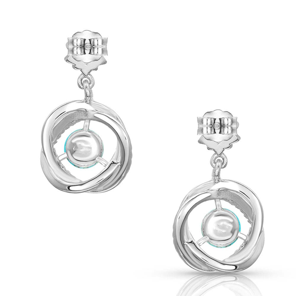 All About The Howlite Ball Drop Earrings