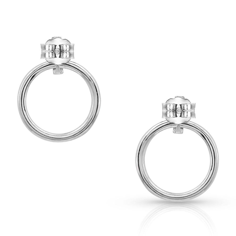 Twinkling Moonlight Ring Earrings