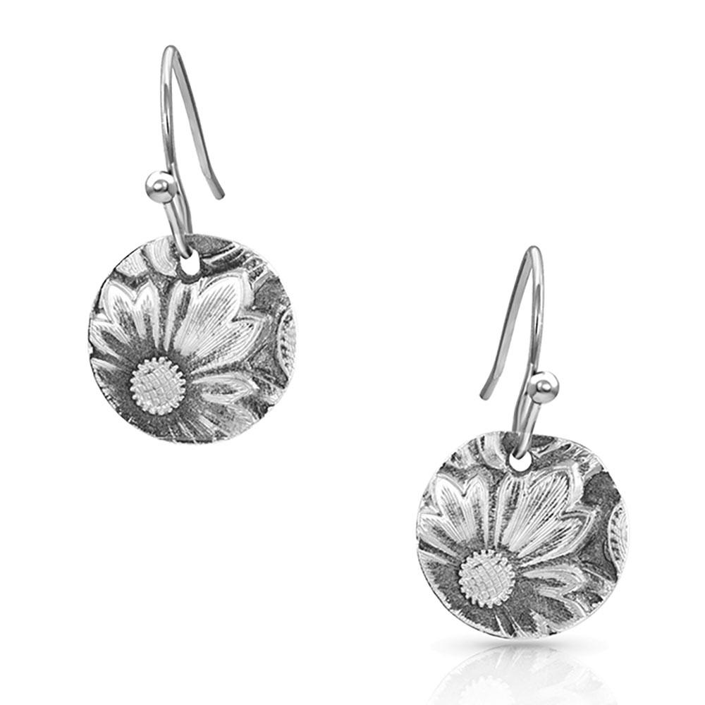 Art of the Buckle Concho Earrings