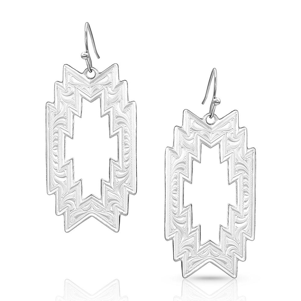 Thunderstorm Geometric Earrings