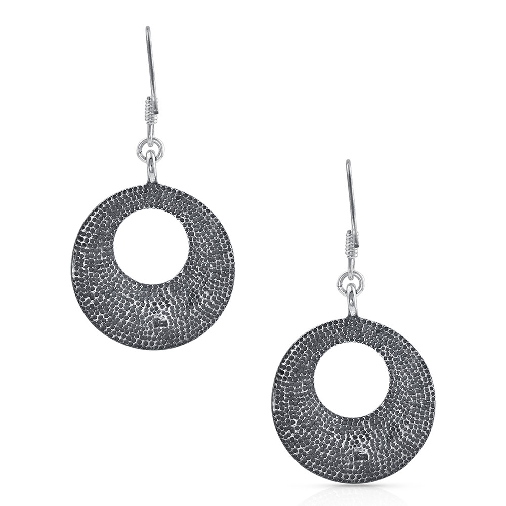 Peaceful Trails Round Earrings
