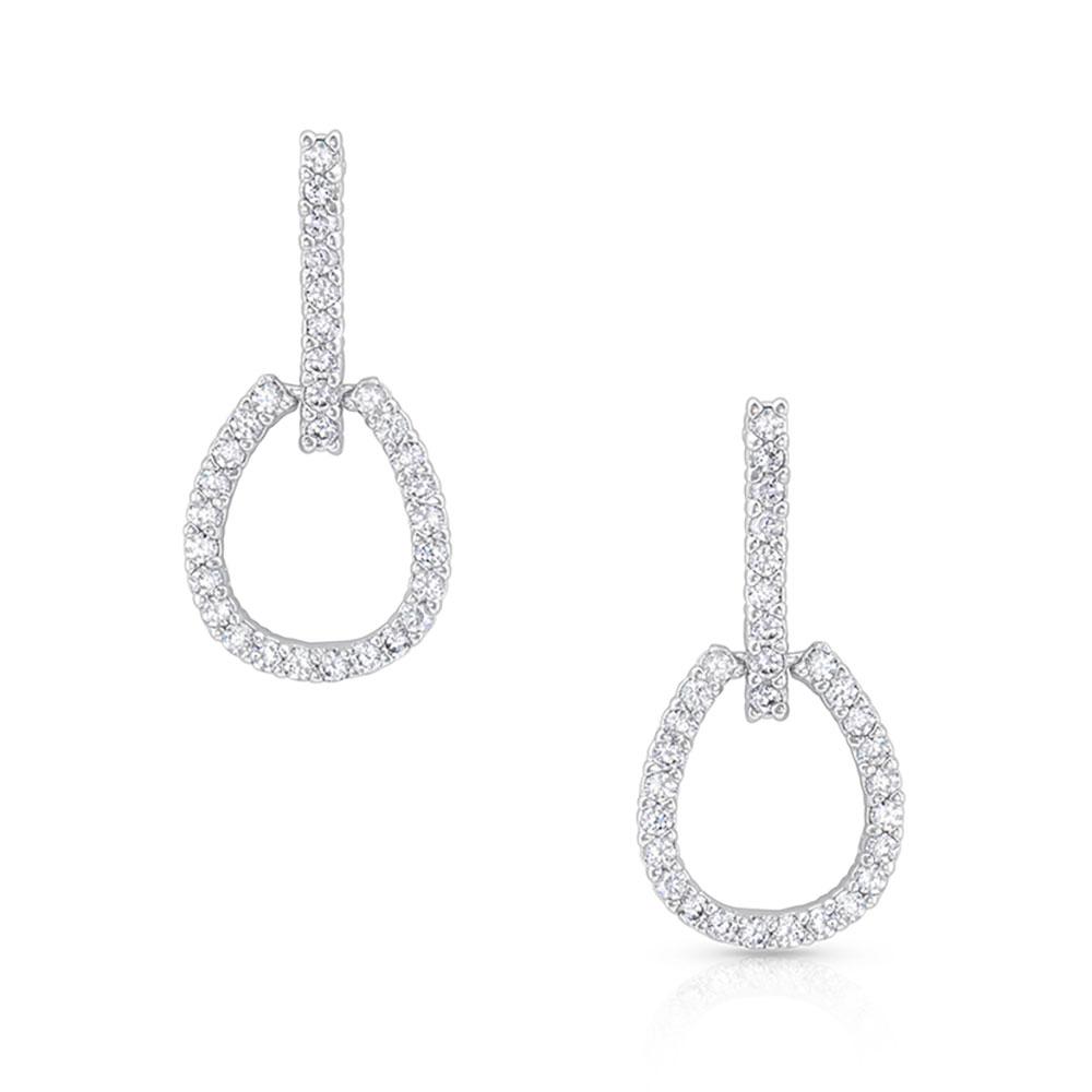 Glittering Tapadero Earrings
