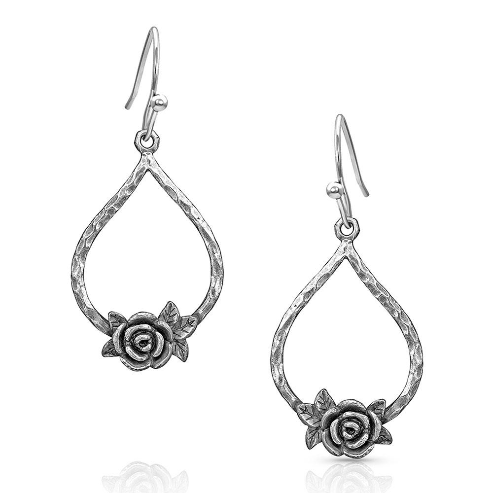 Rose Swing Earrings