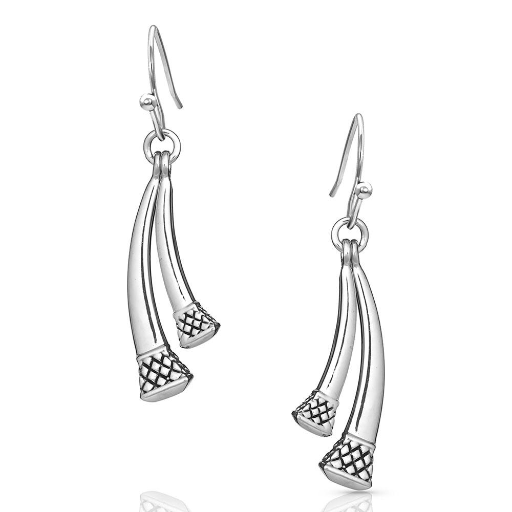 Duo Horseshoe Nail Earrings