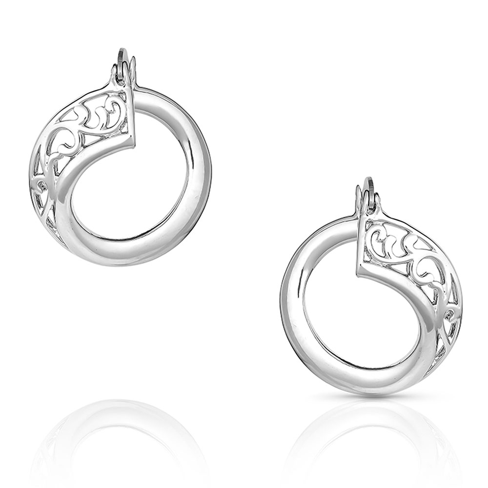 On A Twisted Path Earrings