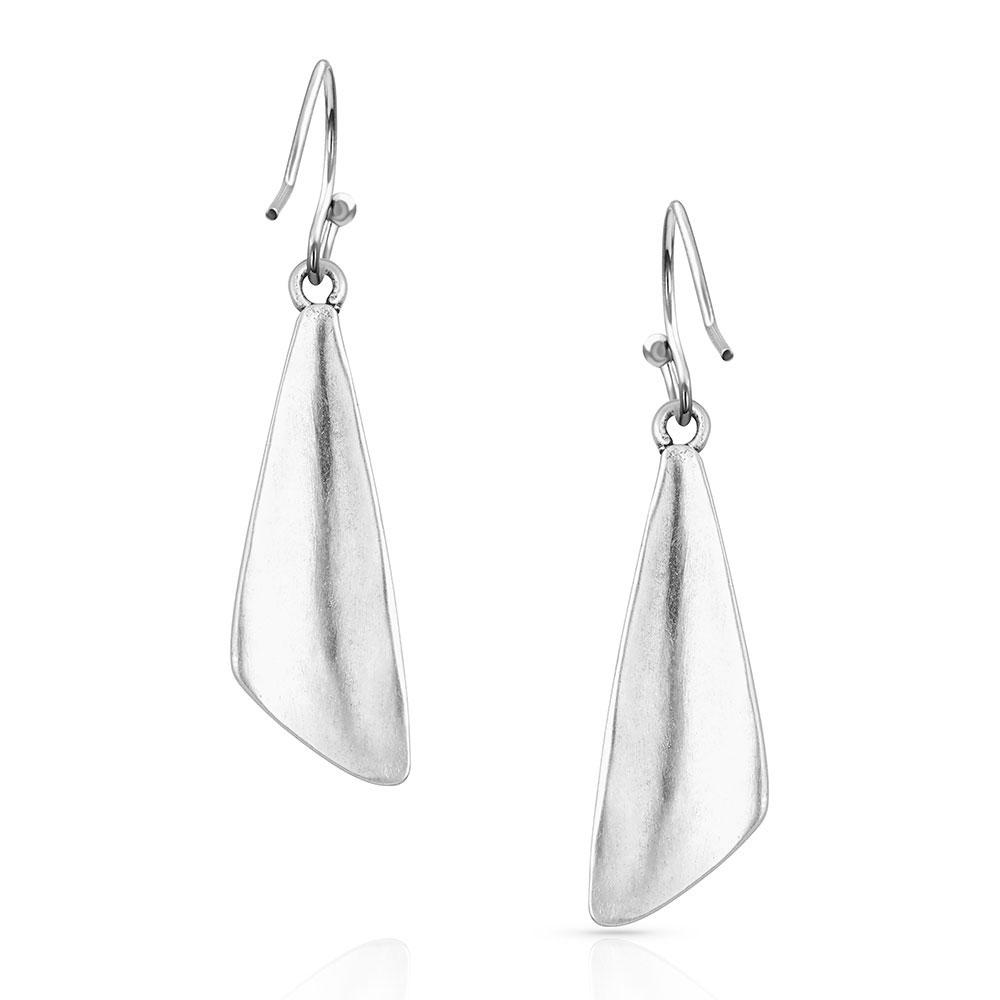 Salem Dusk Geometric Opal Earrings