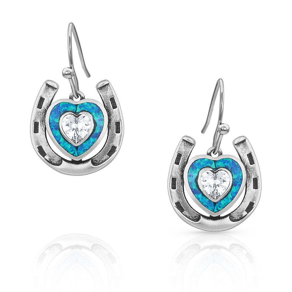 The Love Inside Luck Horseshoe Earrings