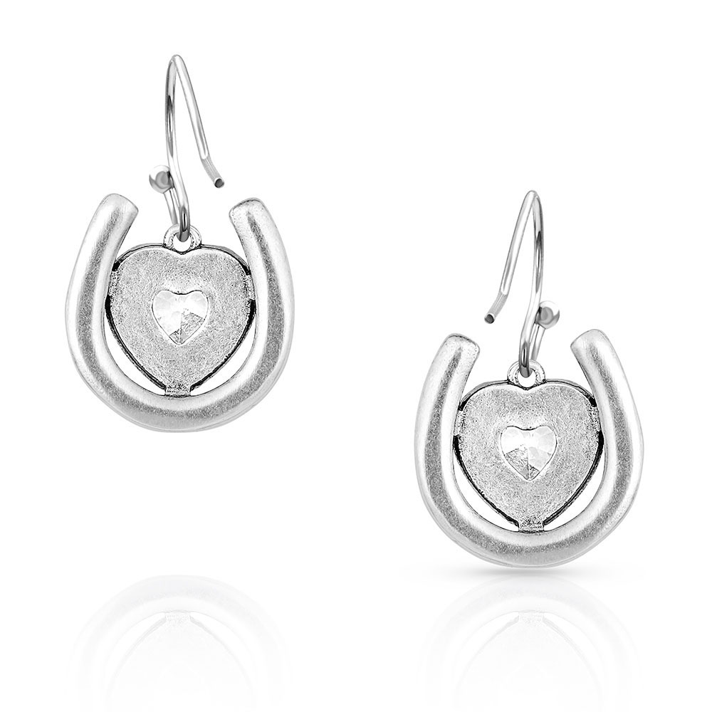 The Love Inside Luck Horseshoe Earrings