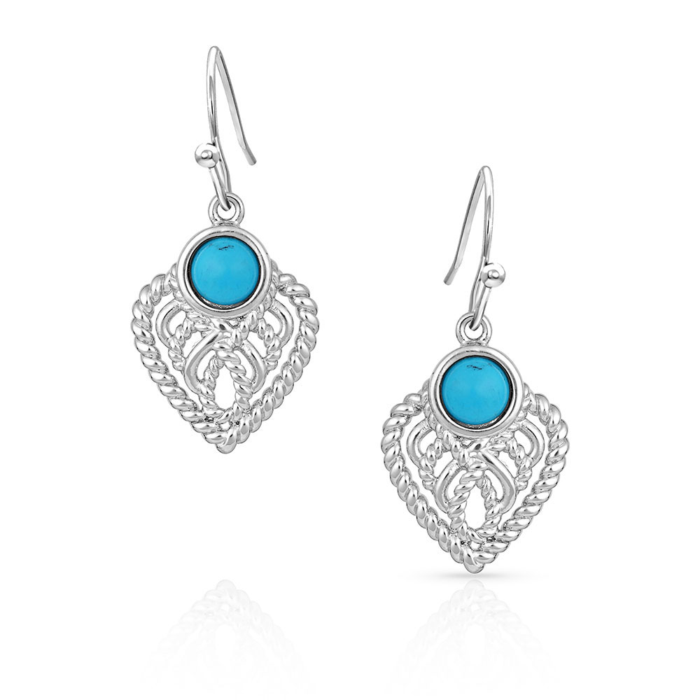 Love Starts At The Center Heart Earrings