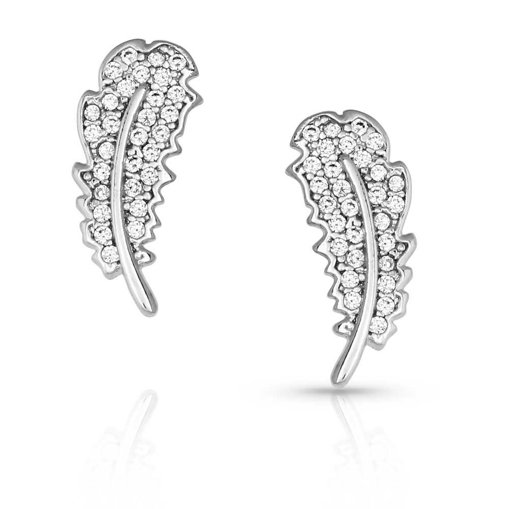 Small Smitten Feather Earrings