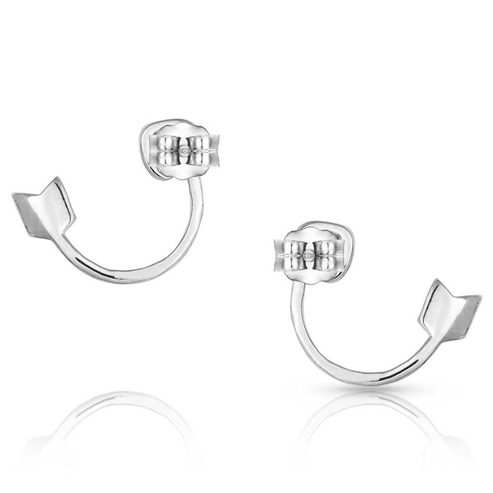 Dosey Doe Silver Arrow Earrings