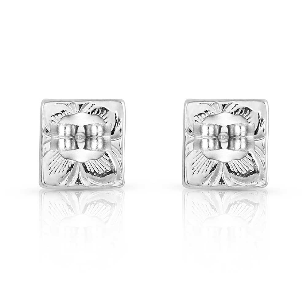 American Legends Geometric Diamond Earrings