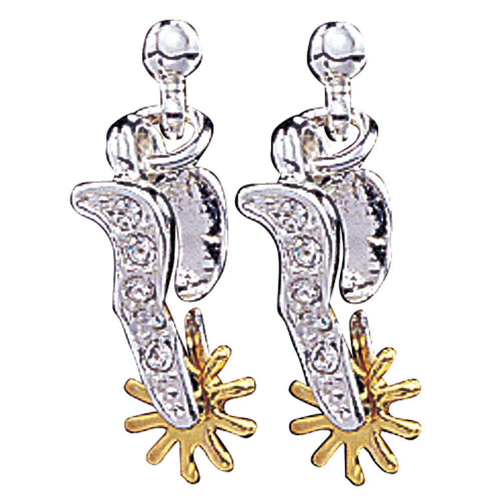 Sparkling Spurs Drop Earrings