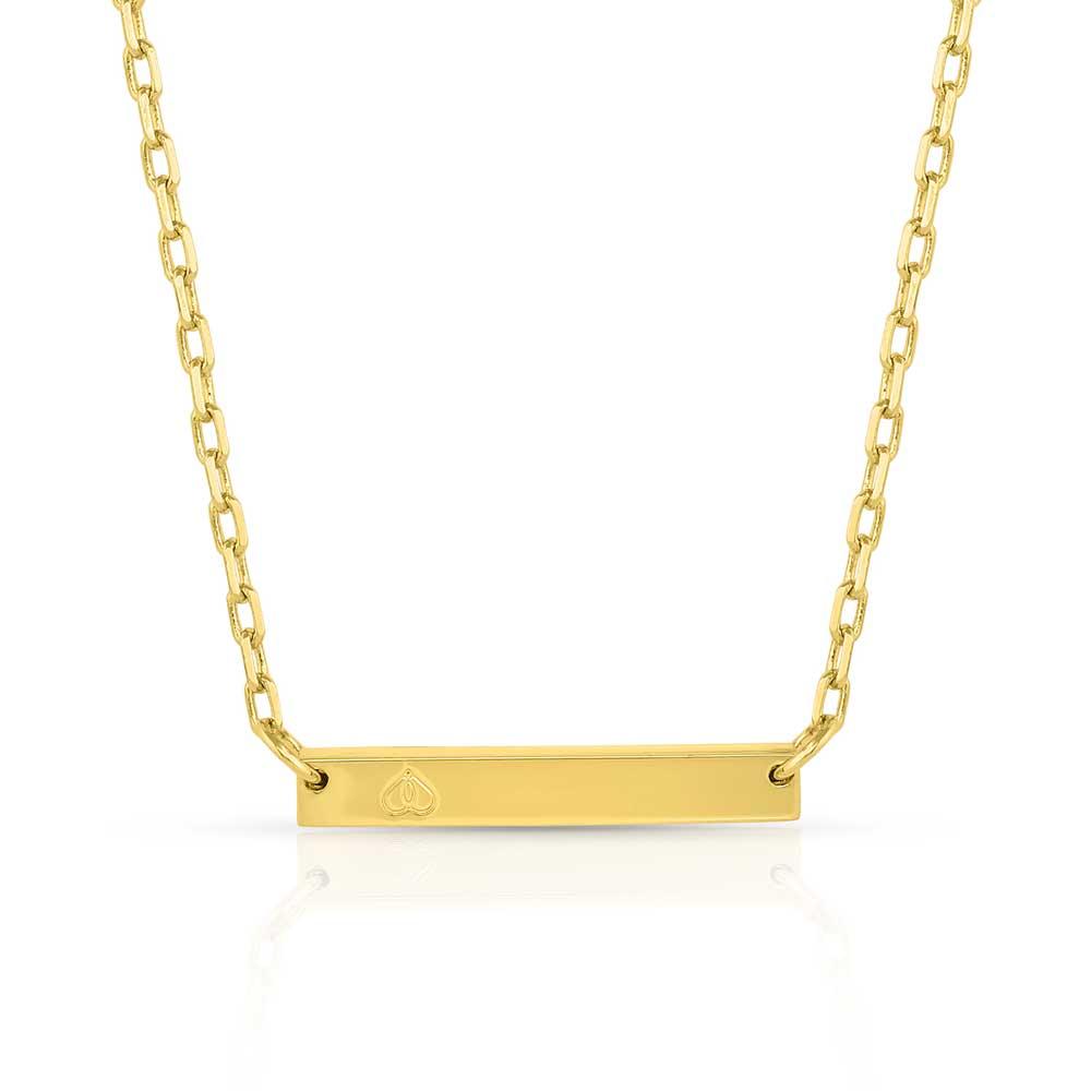 Fearless Faith Bar Necklace
