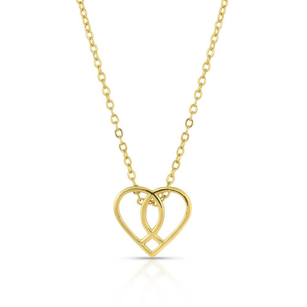 Connected Faith Heart Necklace