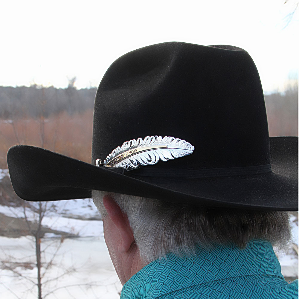 Golden Eagle Trophy Hat Feather (4.59