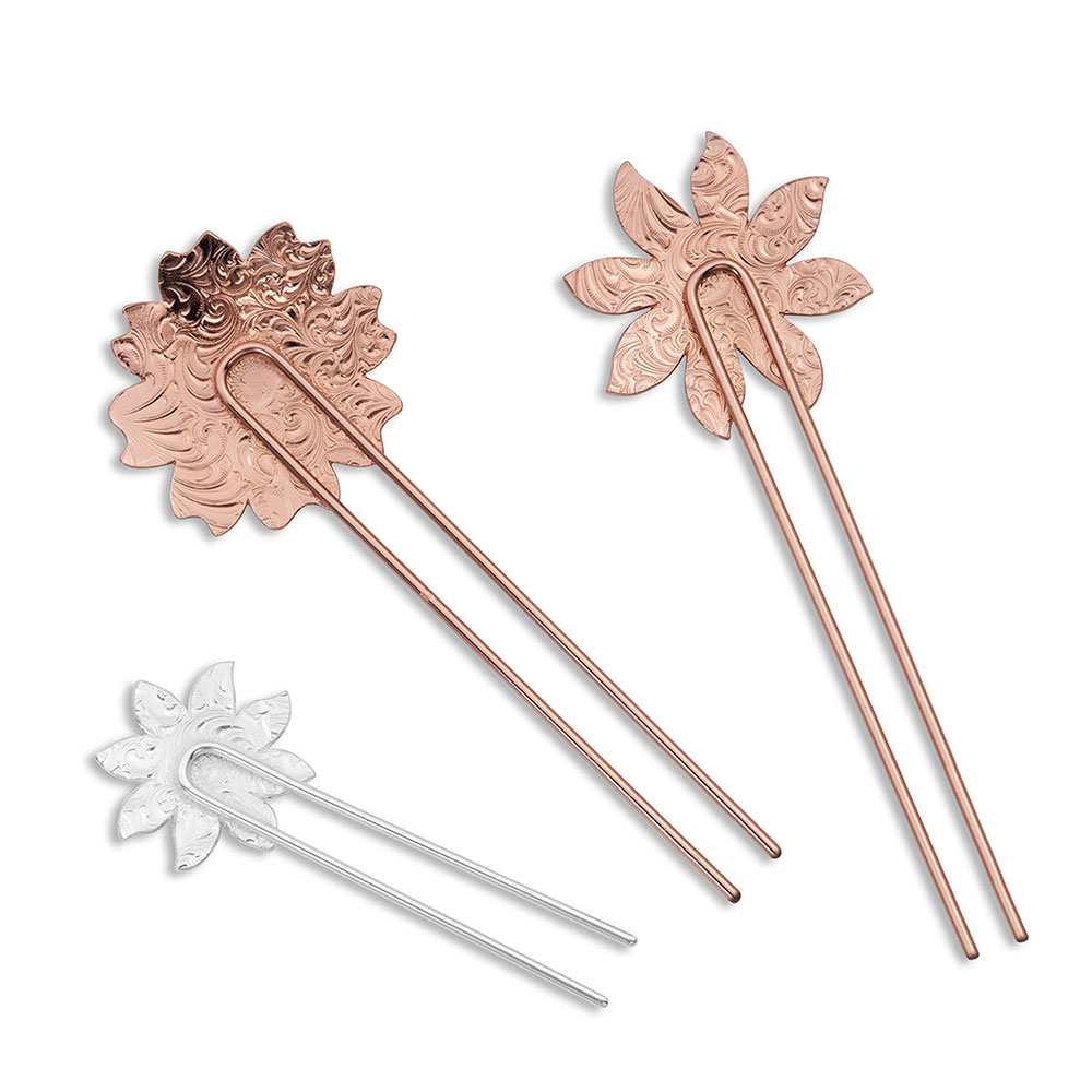 Wild Flower Hair Pin Set