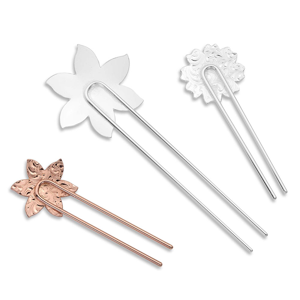 Wild Flower Spark Hair Pin Set