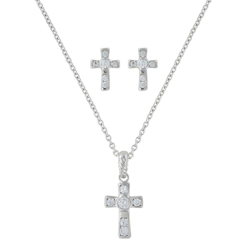 A Mark of Faith Cross Jewelry Set