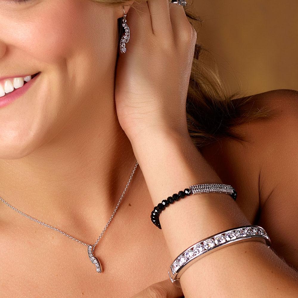 Sparkling Pathway Jewelry Set