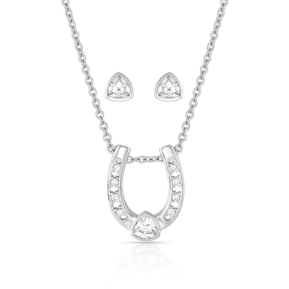 Lucky Trillion Treasure Horseshoe Jewelry Set