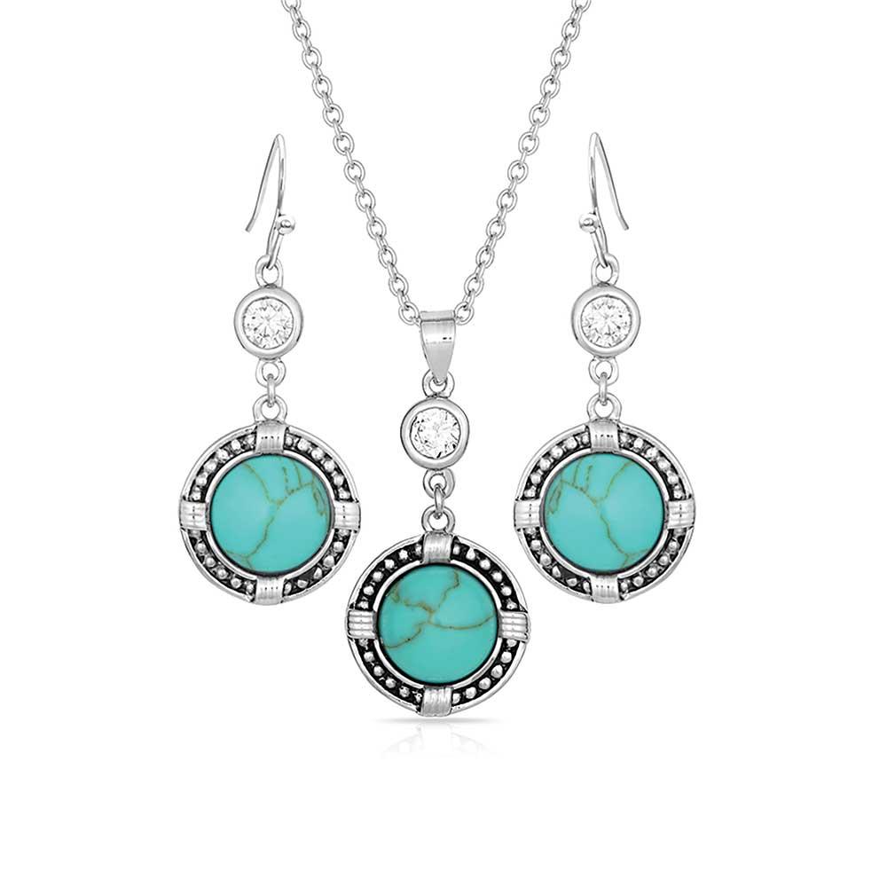 True North Turquoise Jewelry Set