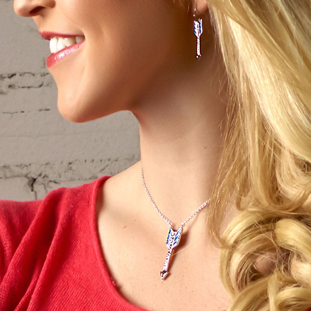 Sky Fletched Arrow Jewelry Set