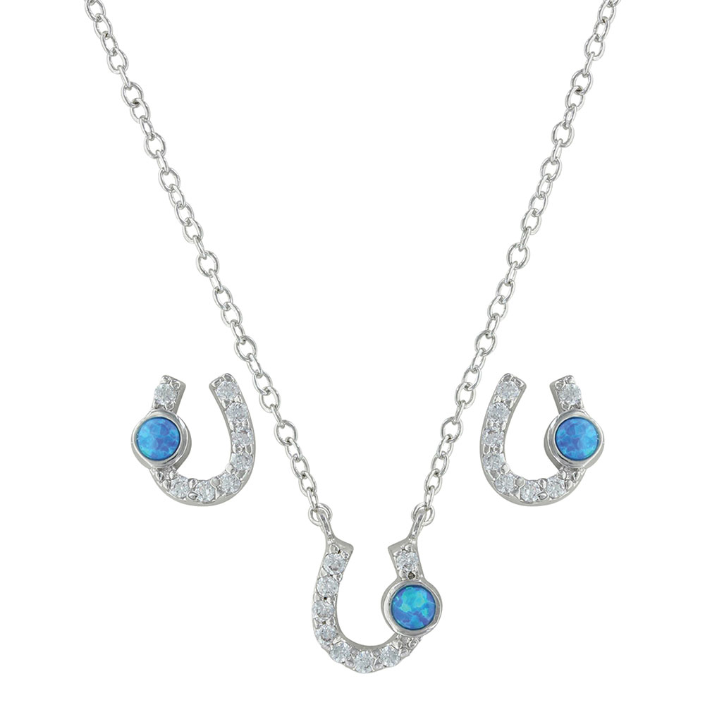 Lightfoot Horseshoe Jewelry Set