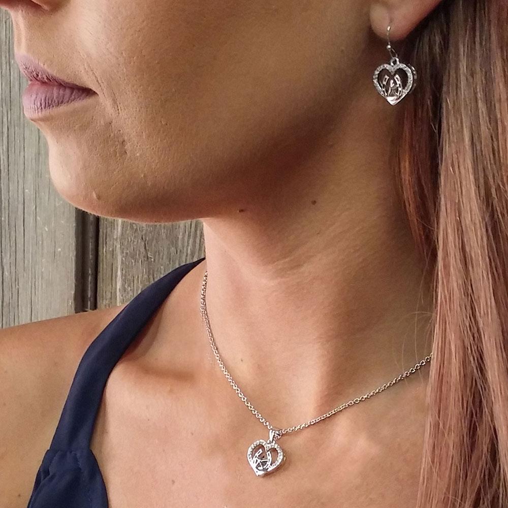 Star of My Heart Horseshoe Jewelry Set
