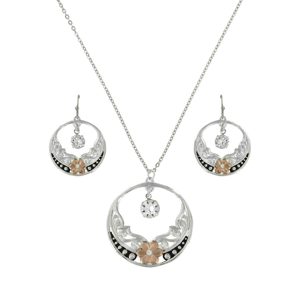 Evening Star's Wild Rose Jewelry Set