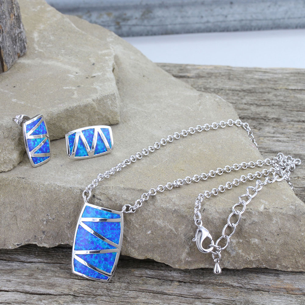 River of Lights Walking Life's Path Jewelry Set