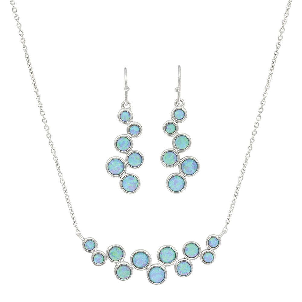 River of Lights Opal Bubble Jewelry Set