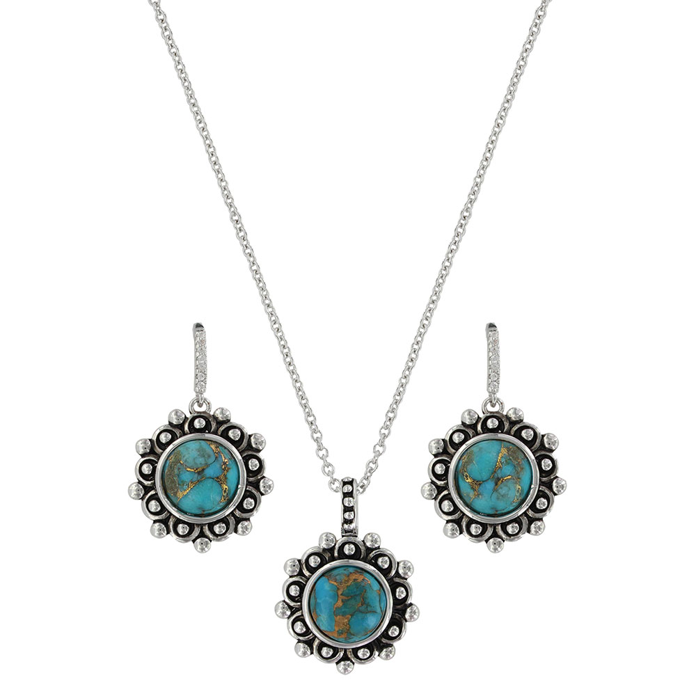 Southern Lace Turquoise Jewelry Set