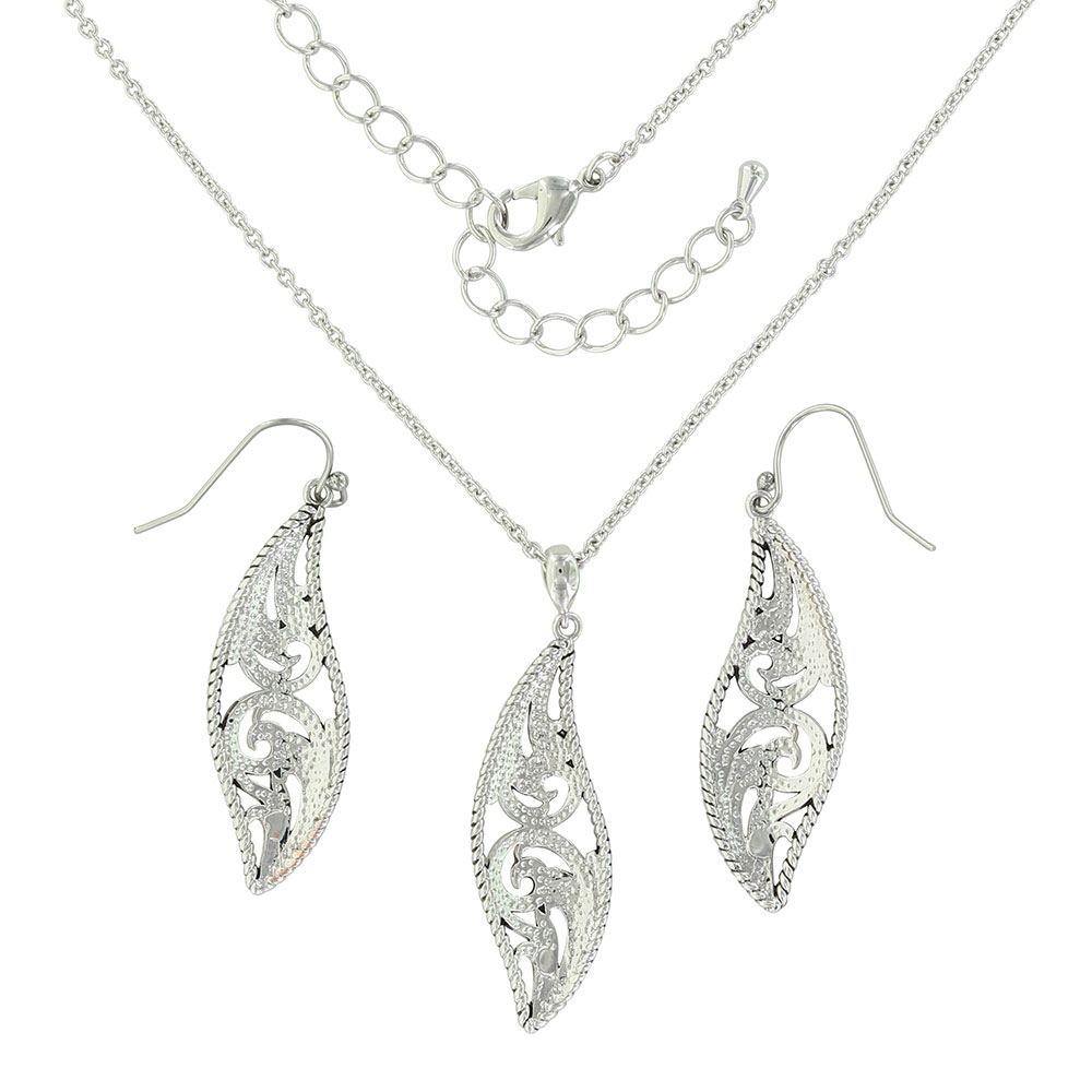 Meet at the Gates Filigree Jewelry Set