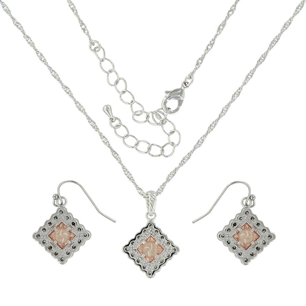 Roped Sunset Lights Jewelry Set