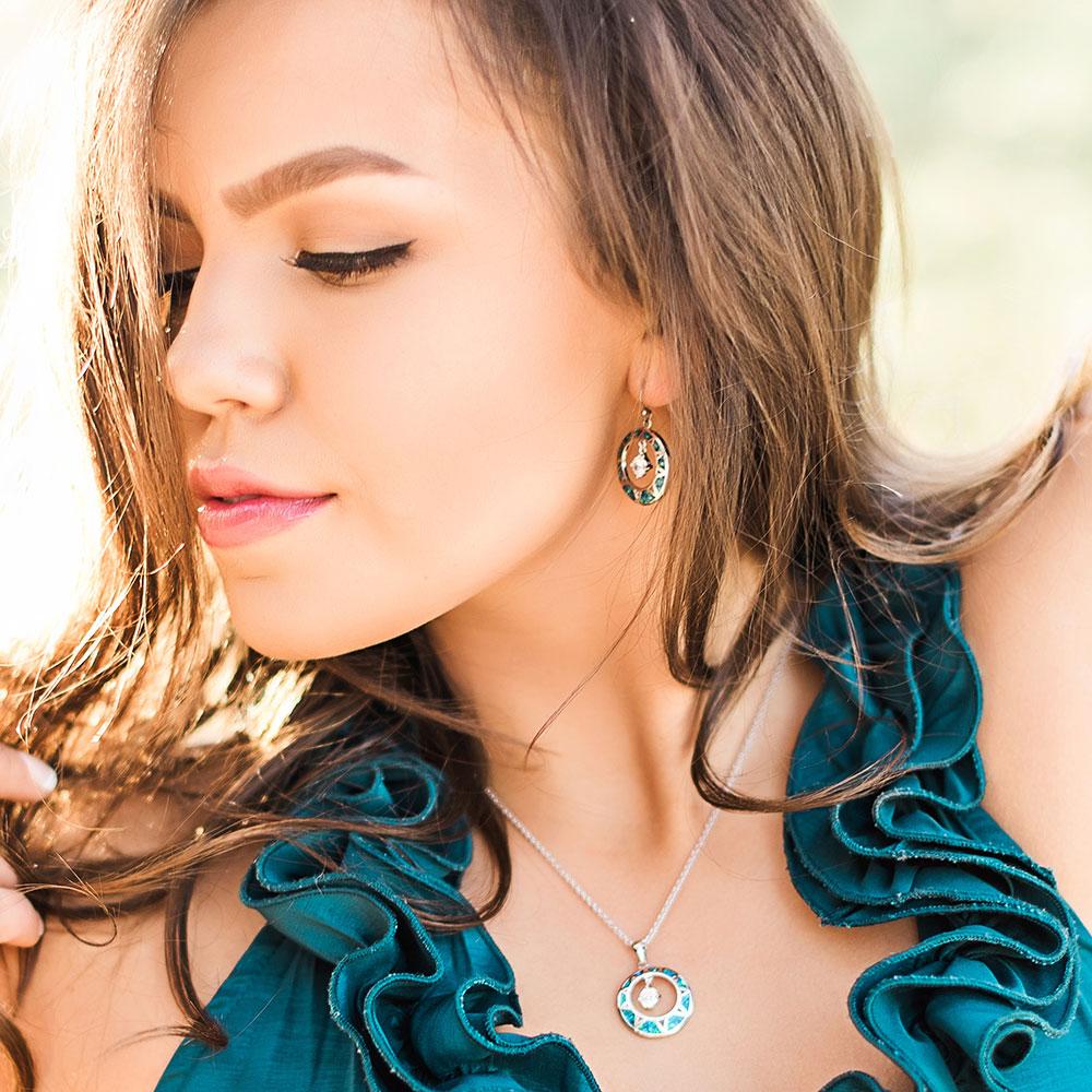 Stay True Opal Jewelry Set