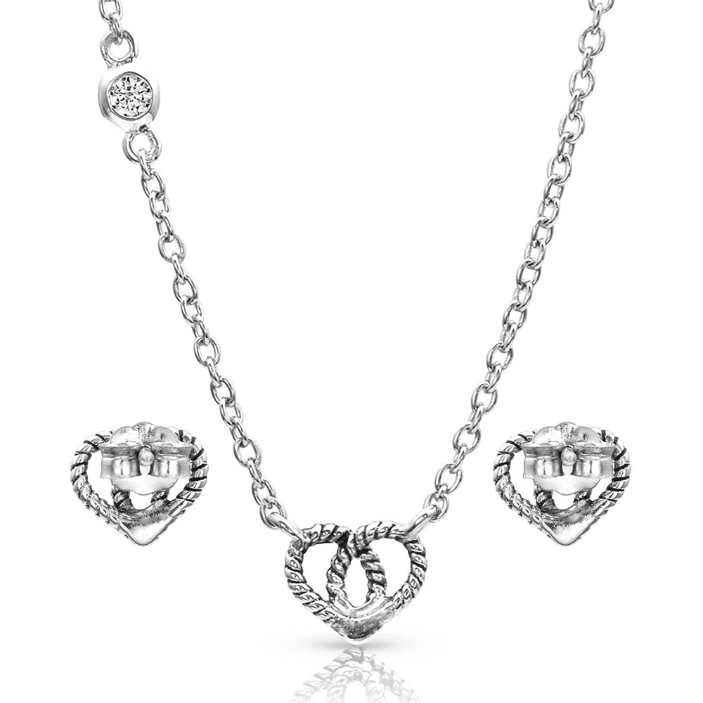 Forever Love Heart Mini Jewelry Set