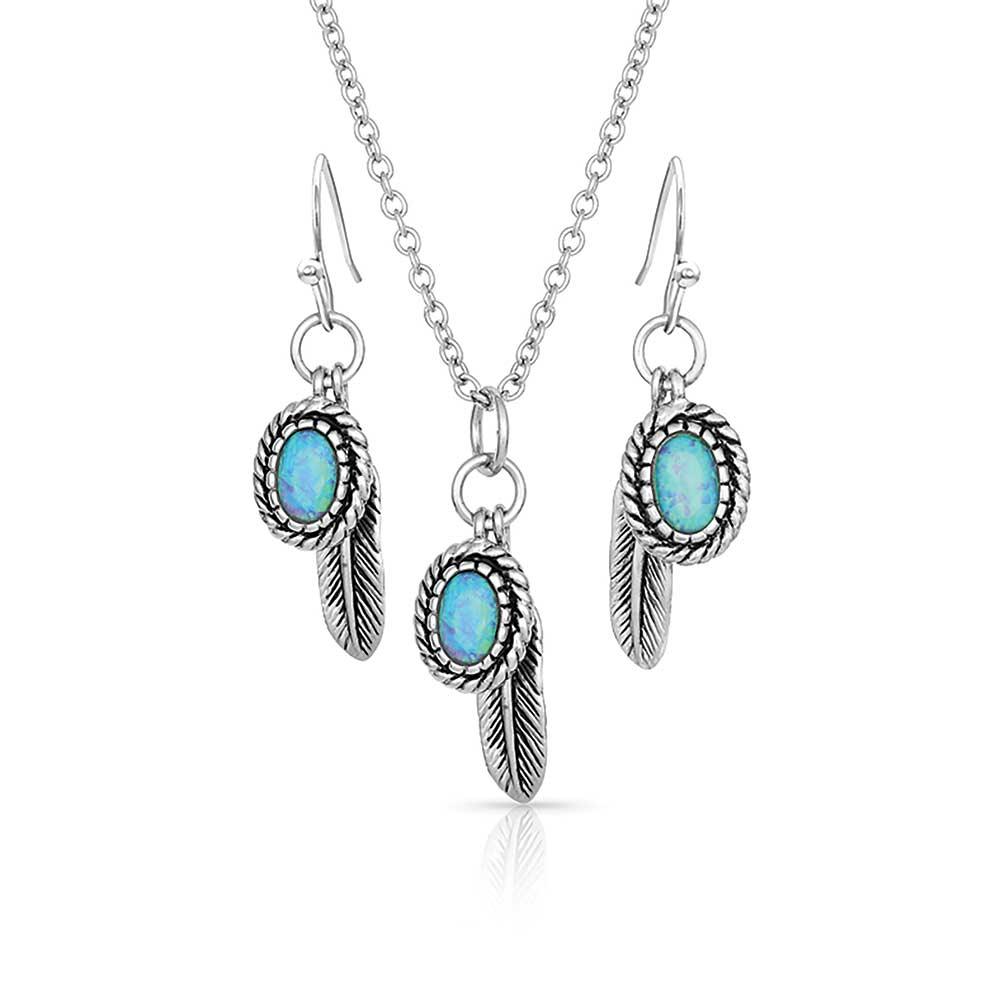Wishing On Hope Opal Jewelry Set