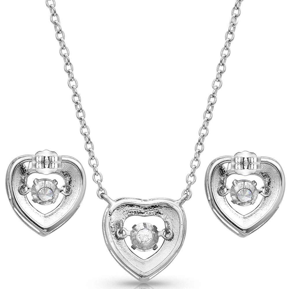 River of Lights Dancing Heart Jewelry Set