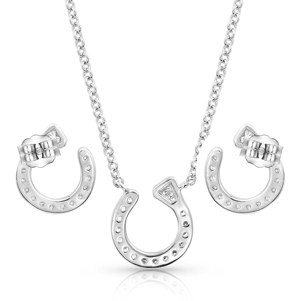 Star Lights Horseshoe Nail Jewelry Set
